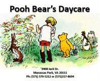 Pooh Bear's Daycare & Senior Home Care Services