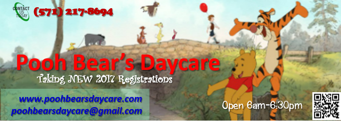2017 Daycare Registrations