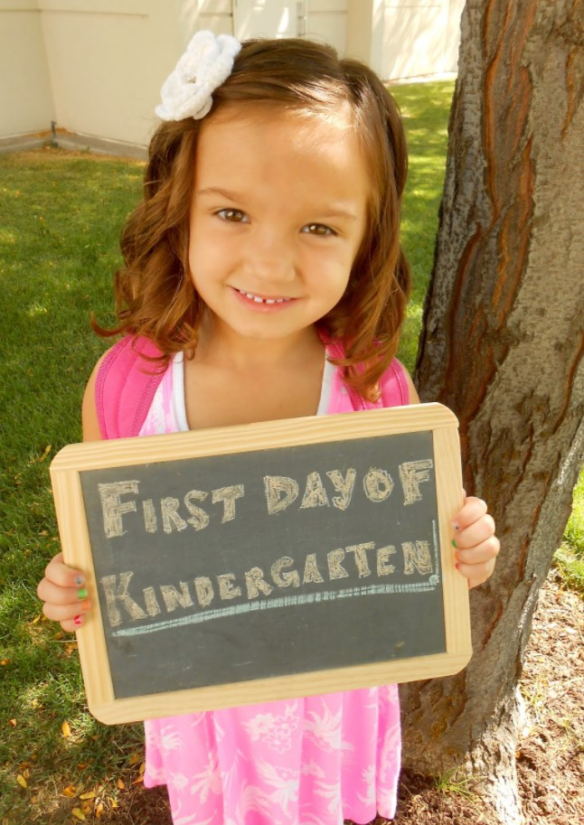 1st Day of Kindergarten