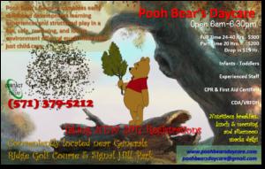 Pooh Bear's Daycare
